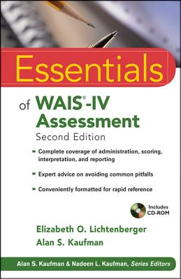 Essentials of Wais-IV Assessment By Lictenberger, Elizabeth O./ Kaufman, Alan S.